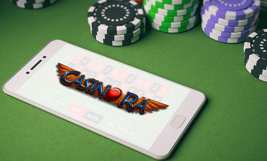 Casino Ra на мобильный телефон